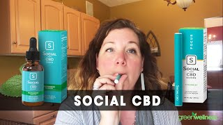 Social CBD Vape Pen & Tincture Review