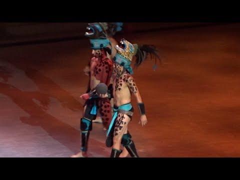 Xcaret Mexico Espectacular - Mayan Ballgame Begins