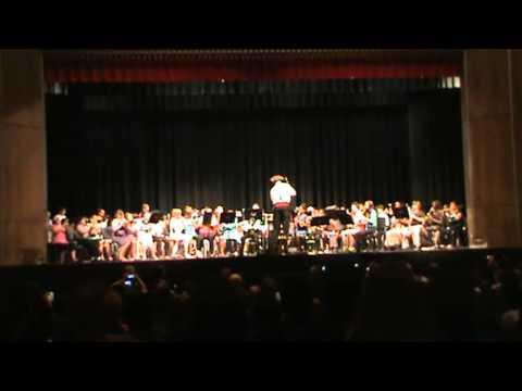 Classical Center at Brandenburg Middle School  Beginning Band Spring Concert 2013