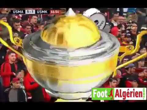 Coupe d'Algérie (32es de finale) : USM Alger 6 - 1 USM Khenchela