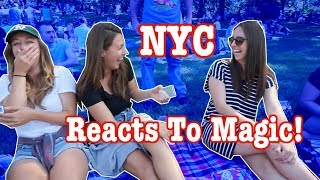NYC REACTS TO MAGIC! | #RealReactions