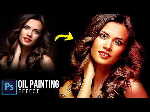 Photo To Oil Painting Effect (Without Oil Filter) - Photoshop Tutorial