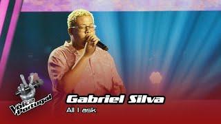 "Gabriel Silva - ""All I ask"" | Prova Cega | The Voice Portugal"