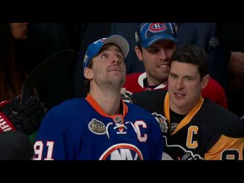 NHL 2017 All-Stars Skills Competition: Skills Challenge Relay