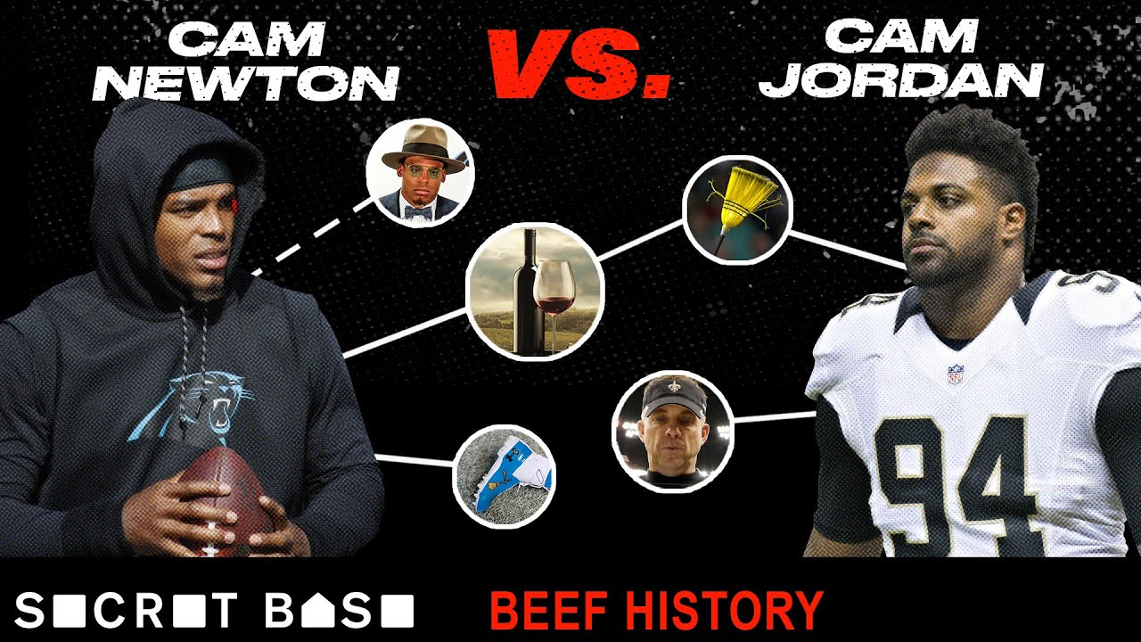 7d35995f Cam Newton's biggest troll is Cam Jordan, and their beef has been ...