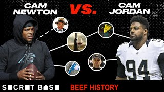 Cam Newton's biggest troll is Cam Jordan, and their beef has been entertaining as hell