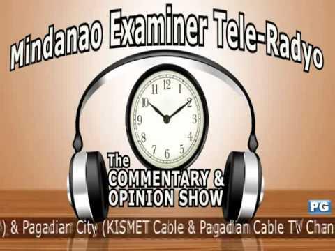 Mindanao Examiner Tele-Radyo Nov. 14, 2012