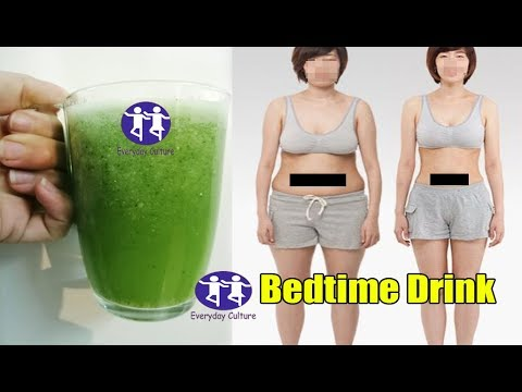 Bedtime drink How to lose belly fat overnight drink  Fat cutter drink  weight lose drink, get rid of