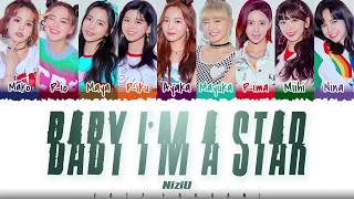 Download NiziU – 'BABY I'M A STAR' Lyrics [Color Coded_Kan_Rom_Eng] Mp3 and Videos