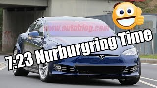 A Tesla Crushes Porsche Tycans Nurburgring Time