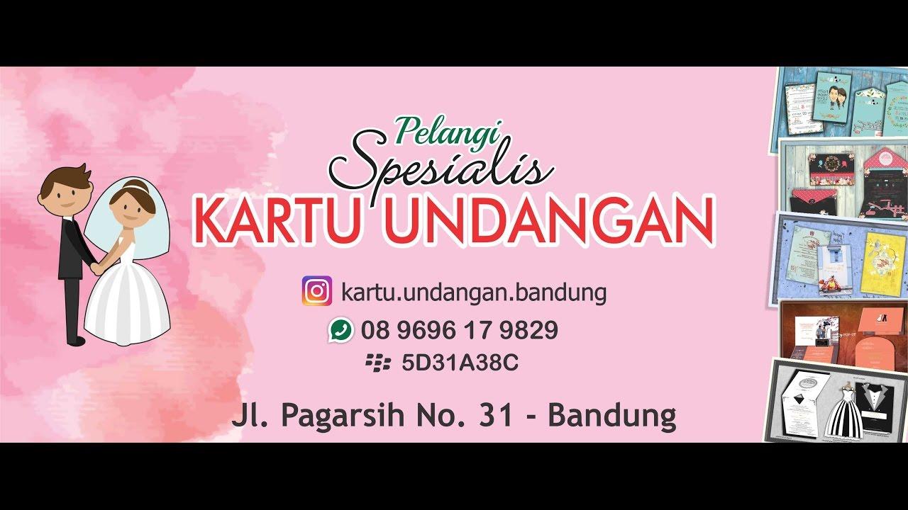 Kartu Undangan Ulang Tahun Kartu Undangan Pernikahan Unik Deny 089696179829 Tri
