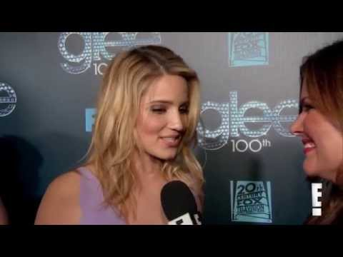 Dianna Agron at Glee 100th Episode Party - Interview