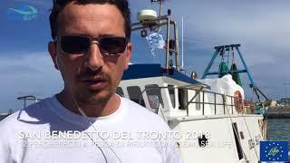 San Benedetto del Tronto / a pesca di rifiuti 2018