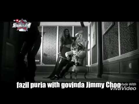 Fazil puria with govinda upcoming movie fry day Jimmy Choo  2018