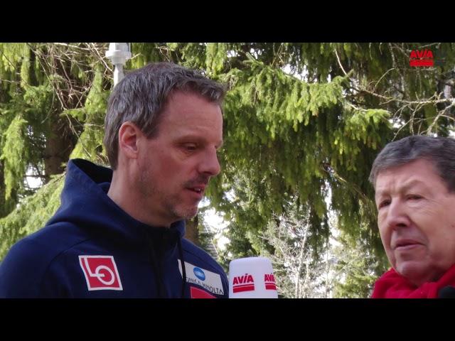 Alex Stöckl im Interview in Planica