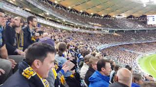 AFL 2018 Qualifying Final #2 West Coast Eagles vs Collingwood - The last 6 minutes!
