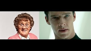 Star Trek Into Darkness/Mrs Browns Boys D'Movie Mashup trailer