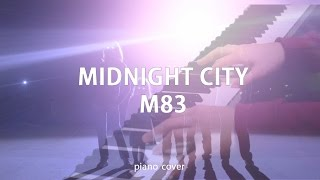 """""""Midnight city"""" - M83 (Piano Cover) by dobrikmusic"""