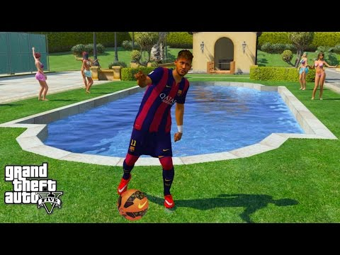 NEYMAR JR PLAYS GTA 5 (GTA 5 Mods)