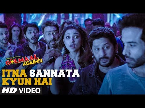 Itna Sannata Kyun Hai Video Song | Golmaal...