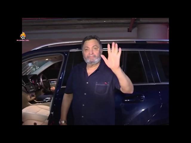 Rishi Kapoor & Neetu Kapoor spotted at Airport Mumbai...Last Video