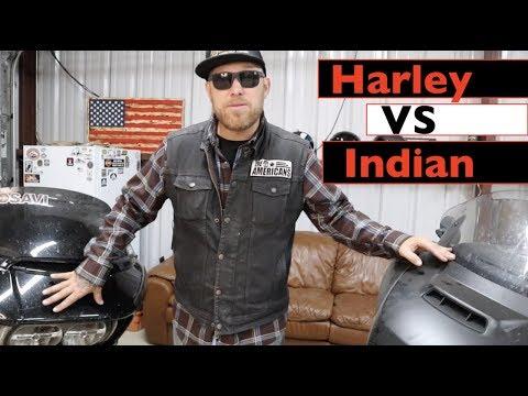 Harley vs Indian Touring Models