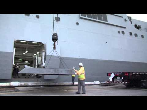 USS San Antonio (LPD 17) departs Norfolk for Hurricane Sandy Relief