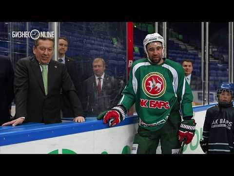 Минниханов – юным хоккеистам: «Ак Барс» ждет вас! Места уже зарезервированы»