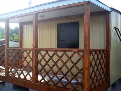 Каркасно-щитовые дома, бани под ключ - YouTube