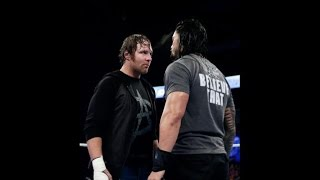 WWE SmackDown May 14, 2015: Dean Ambrose and Roman Reigns stood face-to-face