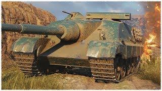 AMX 50 Foch B • Waffenträger auf E 100 with ARMOR • WoT Gameplay