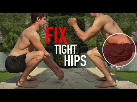 Can't Squat? Fix Your Hips! (FULL ROUTINE)