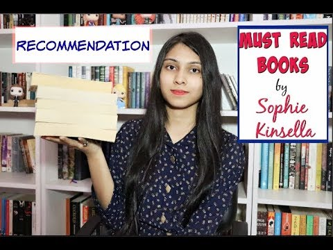 Recommendation : 5 Must Read Sophie Kinsella Books ll Saumya's Bookstation ll Funny Books