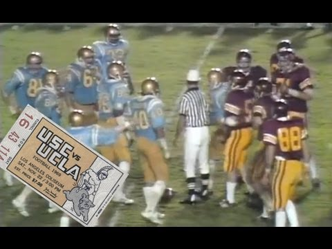 Football Classic - USC vs. UCLA 1969