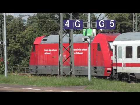 Deutsche Bahn Germany Trains at Koln Messe Deutz August 2016