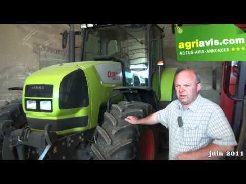 Denis Maes donne son avis sur le Claas Ares 816 RZ
