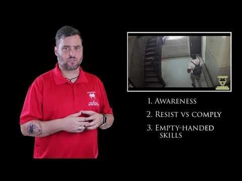 Bully Uses A Chokehold To Rob Victim   Active Self Protection