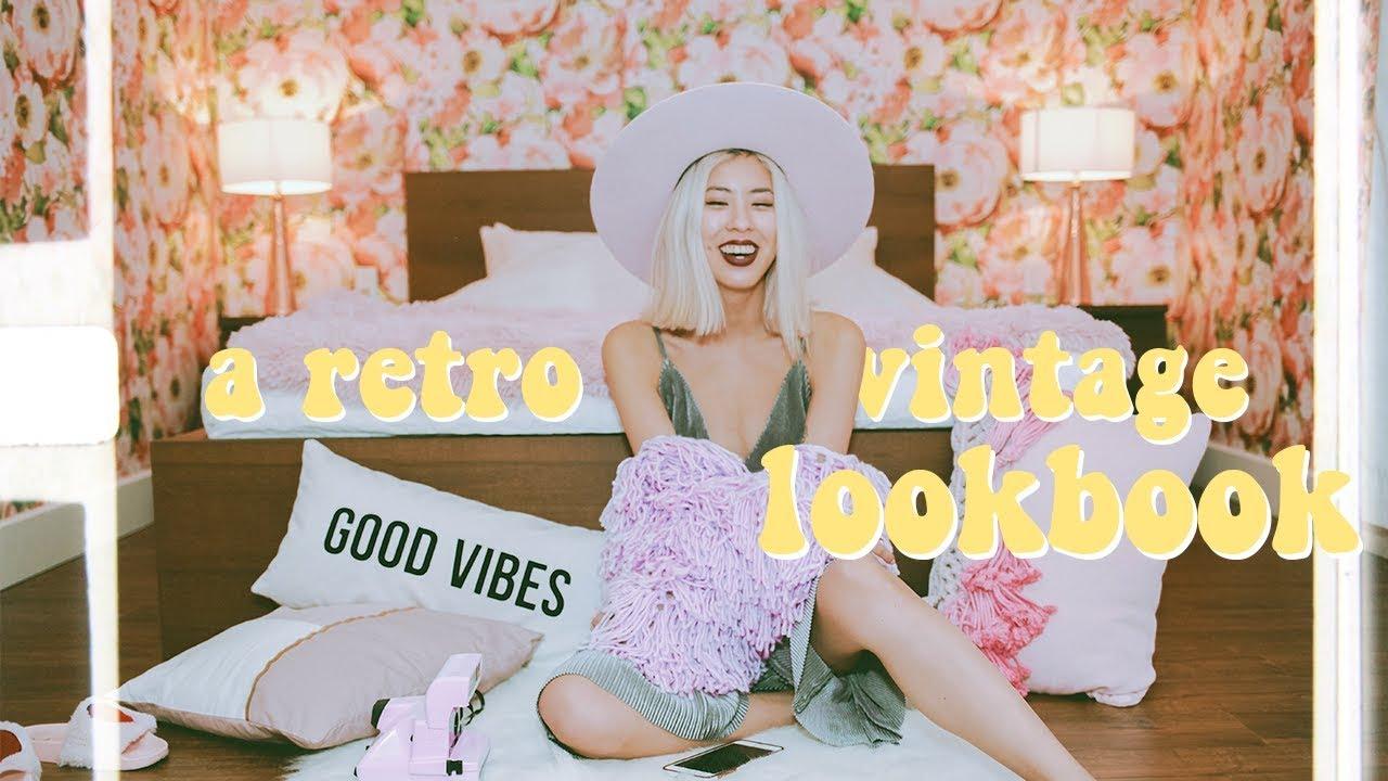 [VIDEO] - ? RETRO VINTAGE ?SPRING LOOKBOOK 8