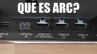 HDMI ARC - Que es ARC?