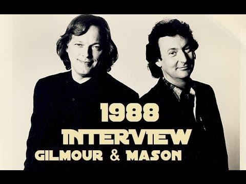 Pink Floyd -David Gilmour & Nick Mason interview (Rockline Toronto 1988)