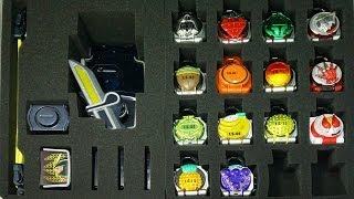 仮面ライダー 鎧武 ガイム ロックシードケース 戦極ドライバーとロックシード32個、フェイスプレート4枚収納可能 Kamen Rider Gaimu Lock Seed case