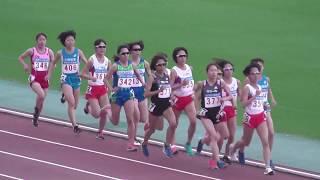 2017.05.20 女子5000m 1. 一山 麻緒 (ワコール) 15:49.63 2. 井...