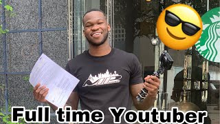 Quitting My Job To Do Youtube FullTime ((The Truth)) thumbnail