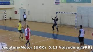 Handball. Vojvodina (SRB) - Lagutina-Motor (UKR). U16 boys. TROPHY-2018. Smederevo.