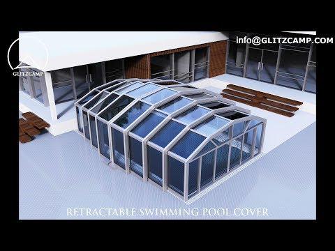 Restaurant & Cafe Enclosures Ideas - Glass Sun House Design - Retractable patio enclosures