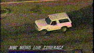 June 17, 1994 - Tom Brokaw Interrupts NBA Finals With Live Footage of O.J. Simpson Bronco Chase