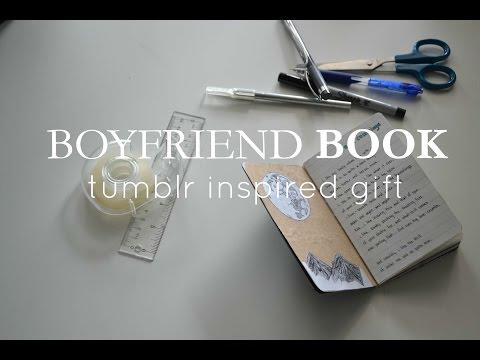Boyfriend Book// Gift Inspiration