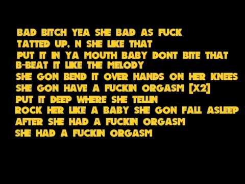 Tyga - Orgasm Lyrics