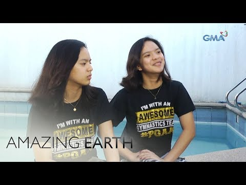 Amazing Earth: Meet the youngest twin female skydivers in the Philippines! - 동영상