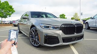 2020 BMW 750i xDrive: Start Up, Exhaust, Test Drive and Review